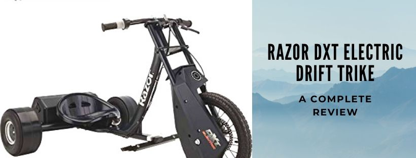 Review of Razor DXT Trike